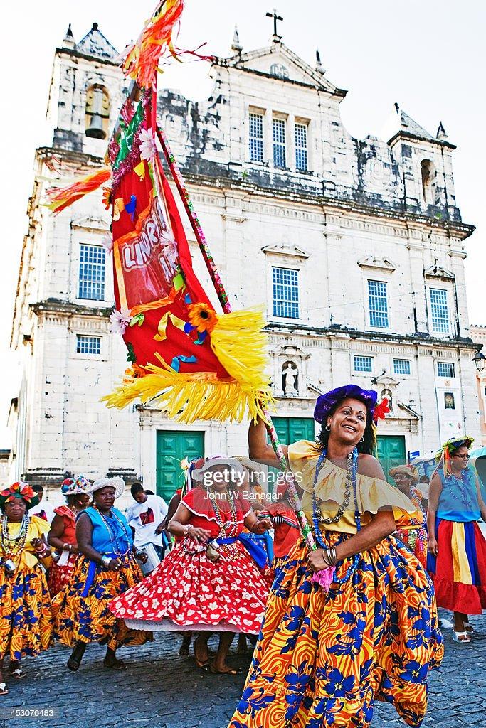 Street celebration ,Salvador Bahia,