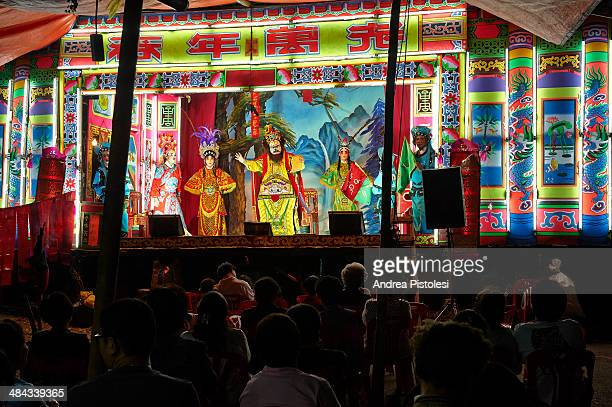 Street Chinese Opera in Bangkok