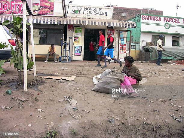 A street corner in Eastleigh a Somalidominated neighborhood of Nairobi Kenya Families say that scores of ethnic Somalis have been recruited from...