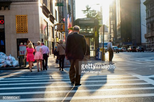 NYC Street Crossing