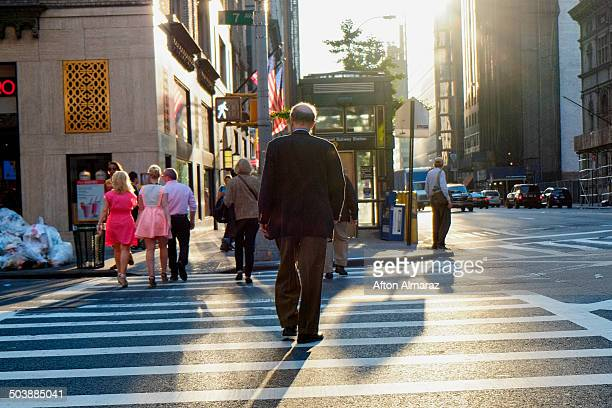 NYC Street Crossing