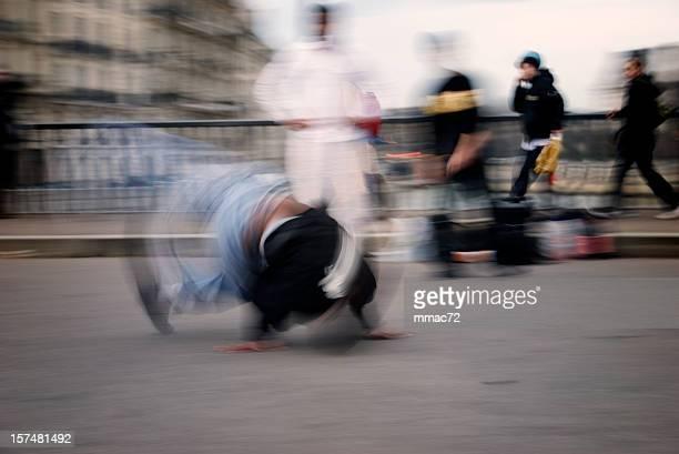 Street Dancers in Action