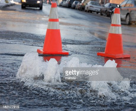 Street flooding.