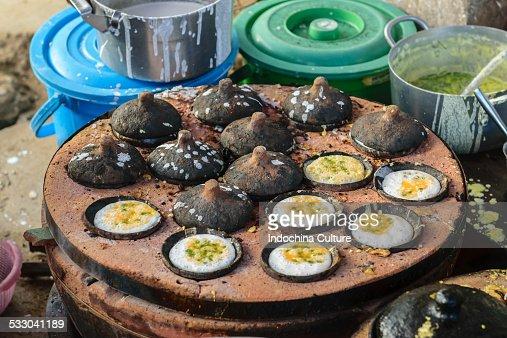Street food Banh Khot, Fresh egg rice cake