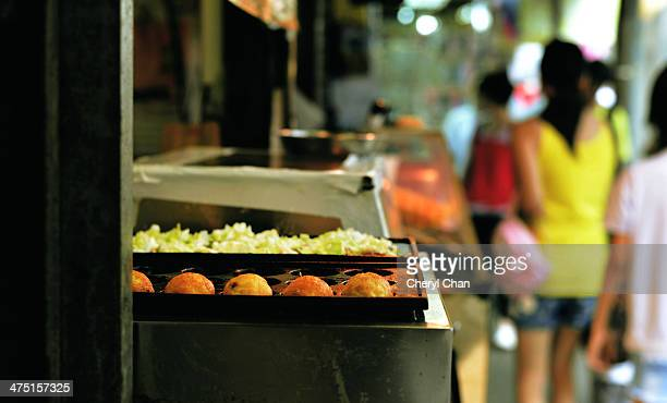 Street food takoyaki