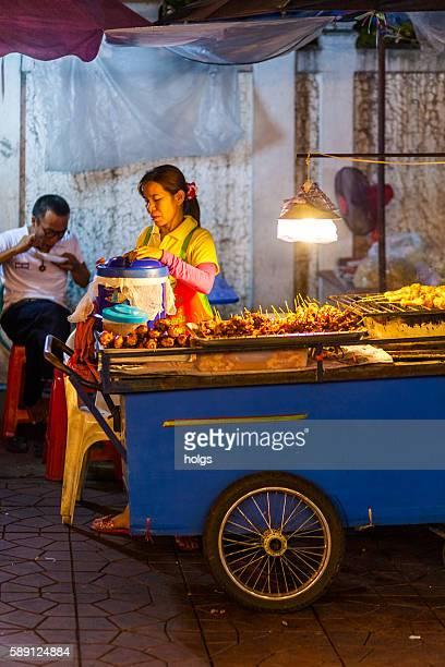 Street Food Vendor in Khao San Road