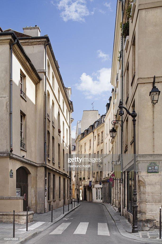 Street in central Paris