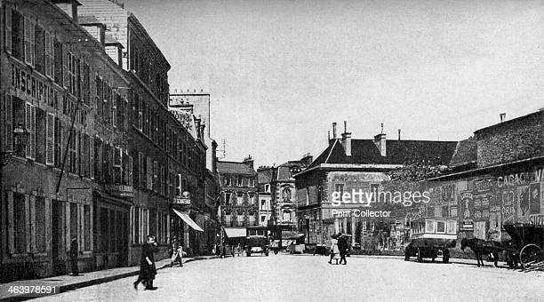 Street in Cherbourg France c1930s A print from Countries of the World edited by JA Hammerton volume V the Fleetway House London c1930s