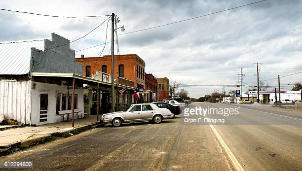 A street in Crawford Texas where 705 people live Its most famous resident has been George W Bush The town's Main Street has three stores a gas...
