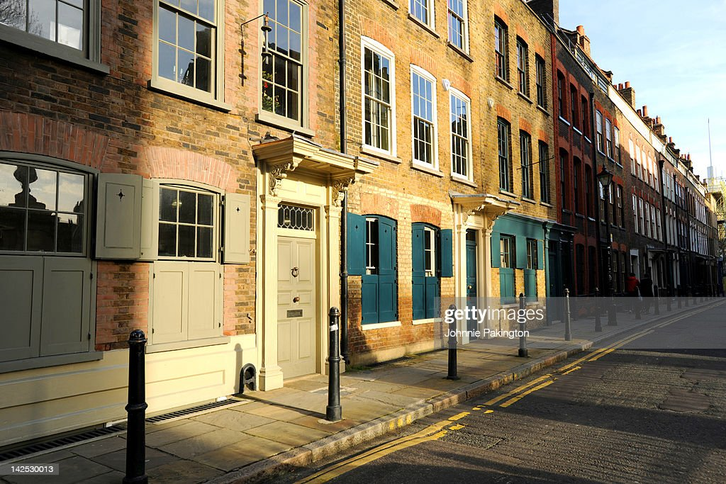 Street in East London : Stock Photo