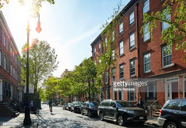 Street in Greenwich Village, NYC