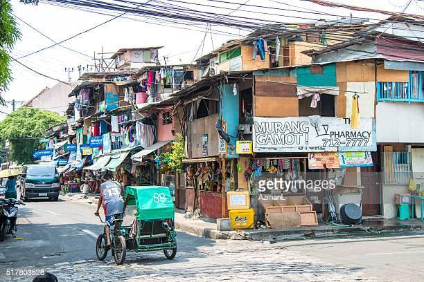 Strada nel Intramuros, Manila, nelle Filippine