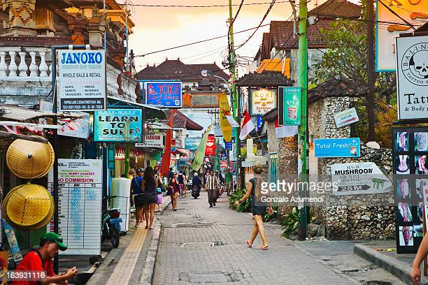 Street in Kuta.