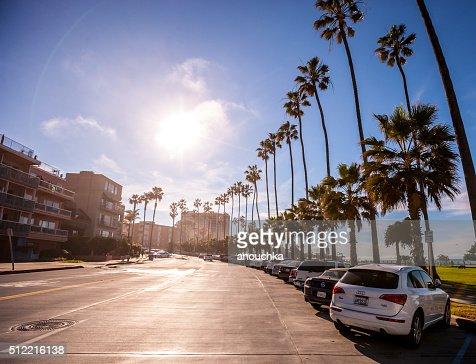 ストリート、ラホーヤ(カリフォルニア州、アメリカ)