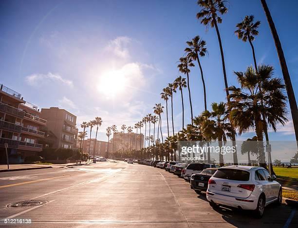 Street in La Jolla, California, USA