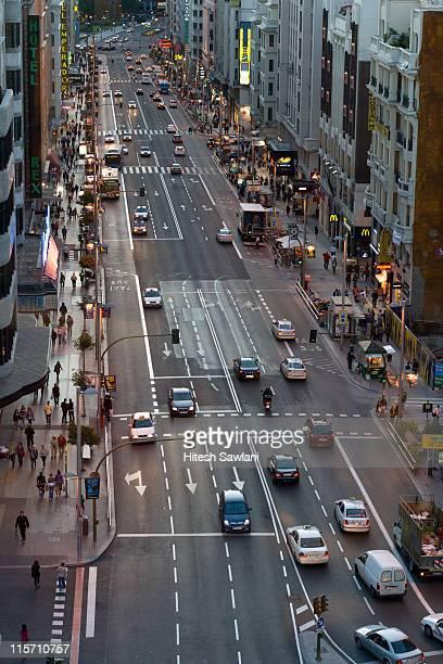 Street in Madrid