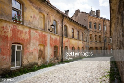Rua na velha Cidade : Foto de stock