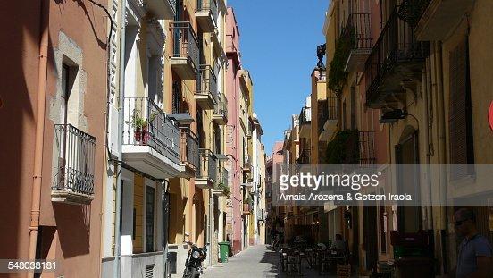 Street in Palamos city