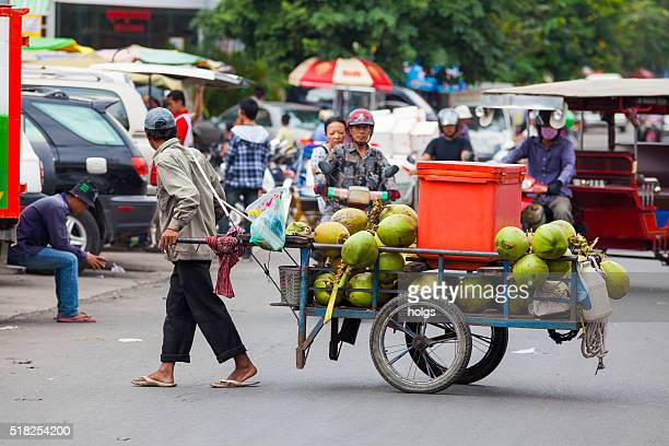 Street in Phnom Penh, Cambodia