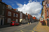 Street in Salisbury, UK