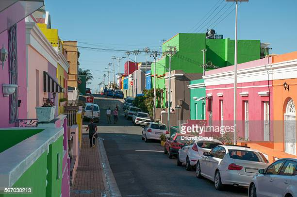 A street in the Bo-Kaap suburb of Cape Town.