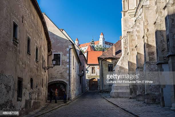 Street in the old town, Bratislava, Slovakia