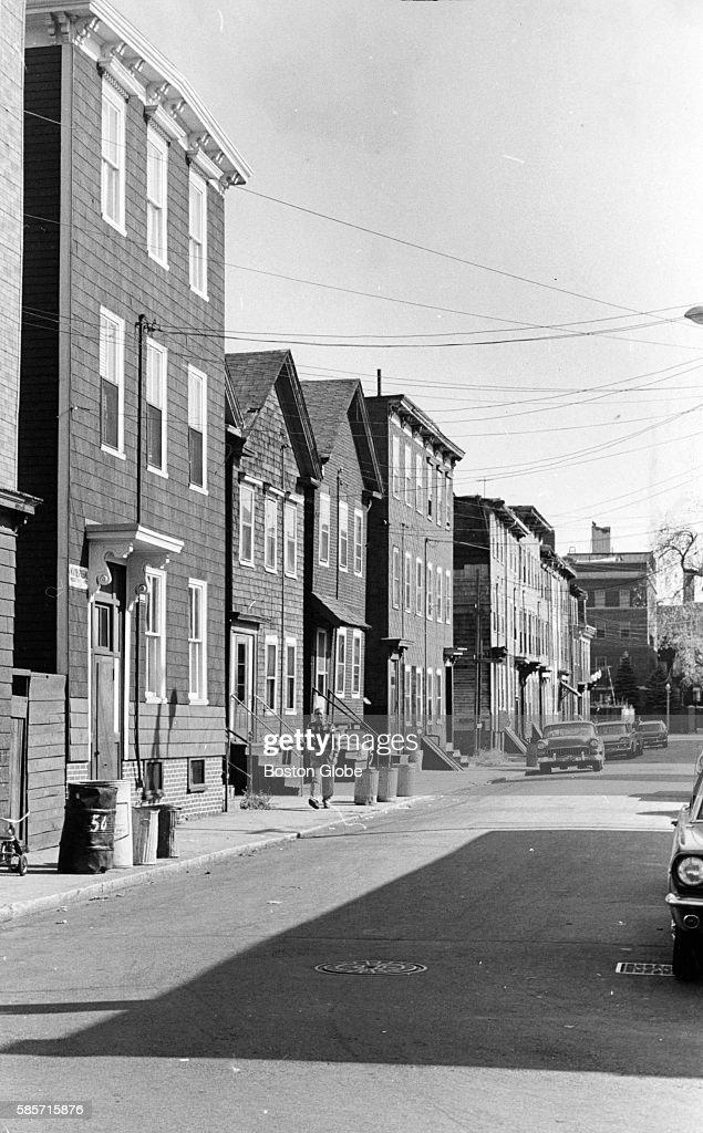 A street in the South Boston neighborhood of Boston Oct 15 1966