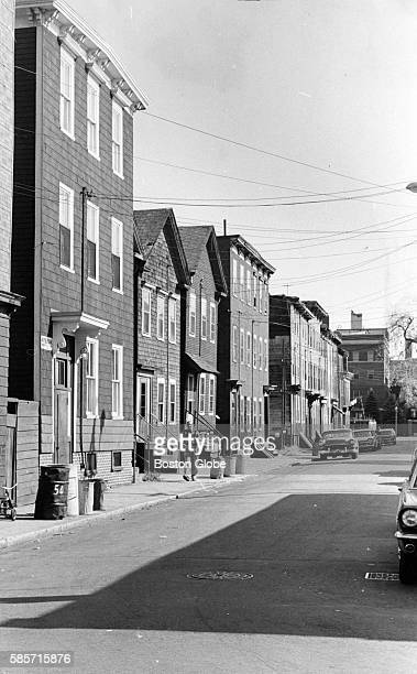 A street in the South Boston neighborhood of Boston Oct 15 1966