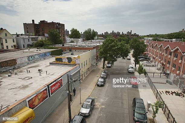 A street in the South Bronx neighborhood where President Obama`s pick for the Supreme Court Judge Sonia Sotomayor grew up May 26 2009 in the Bronx...