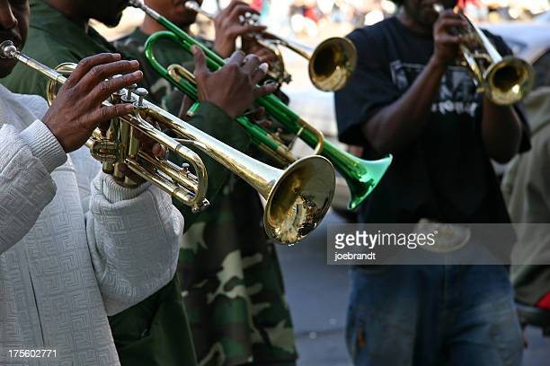 Street Jazz Band Trumpet Quartet
