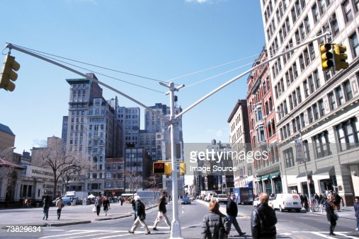 Street junction at union square