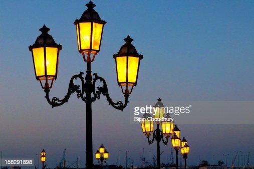 Street Lamps ... : Stock Photo