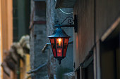 Picture of a street light in Venice Italy