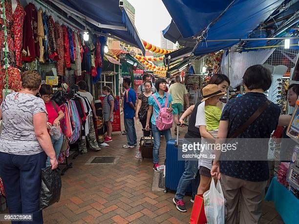 Street Market at Chinatown Singapore