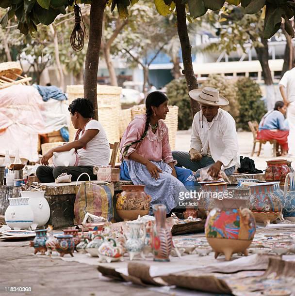 Street market Fiji 1st July 1973