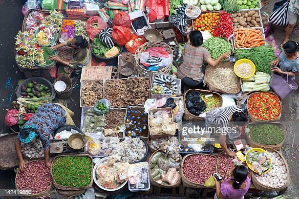 street market in ubud,bali