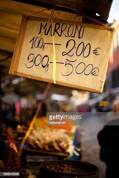 Street Market in Venice, Italy