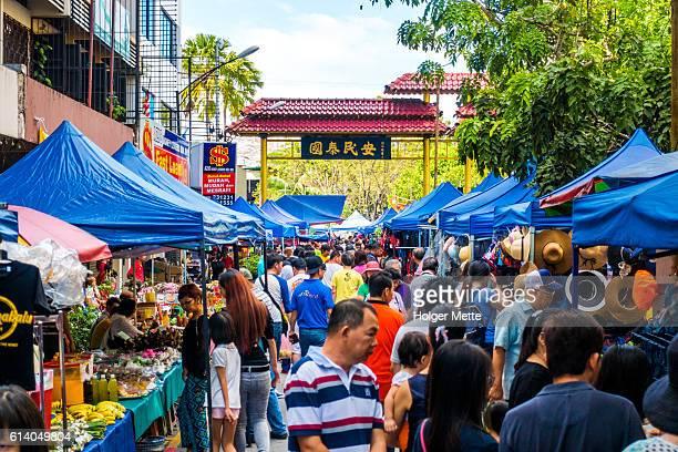 Gaya Street market in Kota Kinabalu