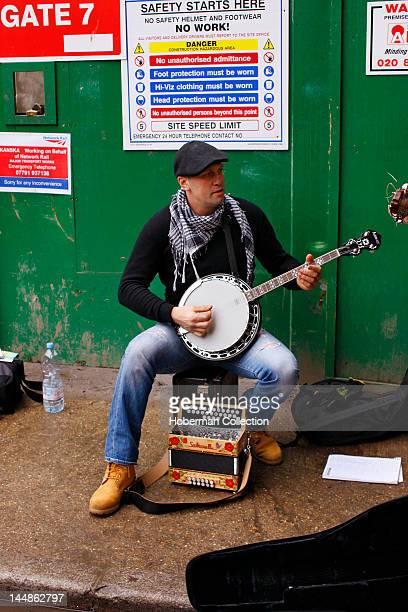 Street Musician Burough Market London