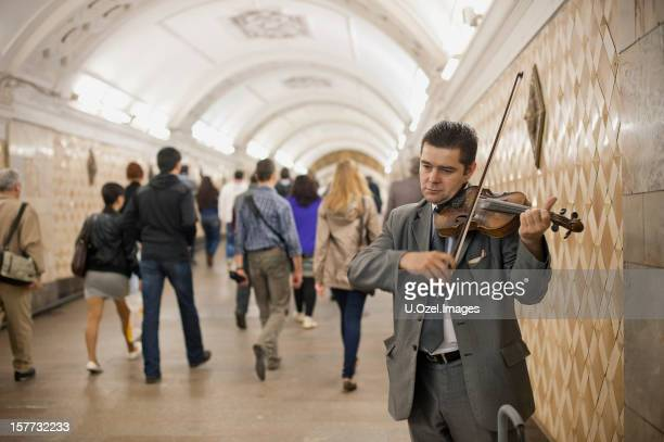 Straßenmusiker, Moskau