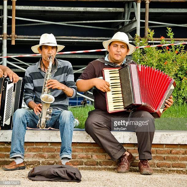 Street Musiker spielen