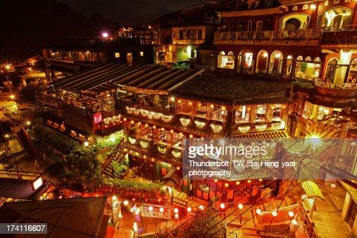 street night scene of Juifan
