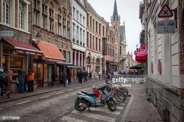 Street of Bruges