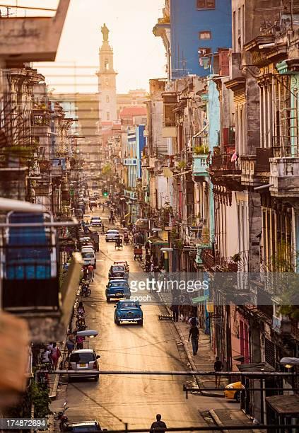 Street of Centro Havana, Cuba