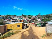 Slum in South Africa