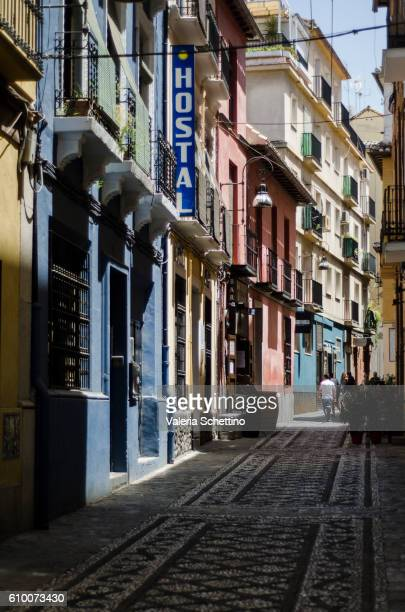street of Granada city