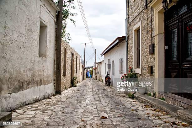 Street of Pano Lefkara