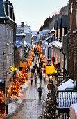 Street of Quebec city