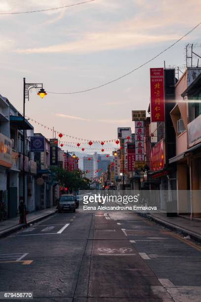 Street of the George Town, Penang, Malaysia