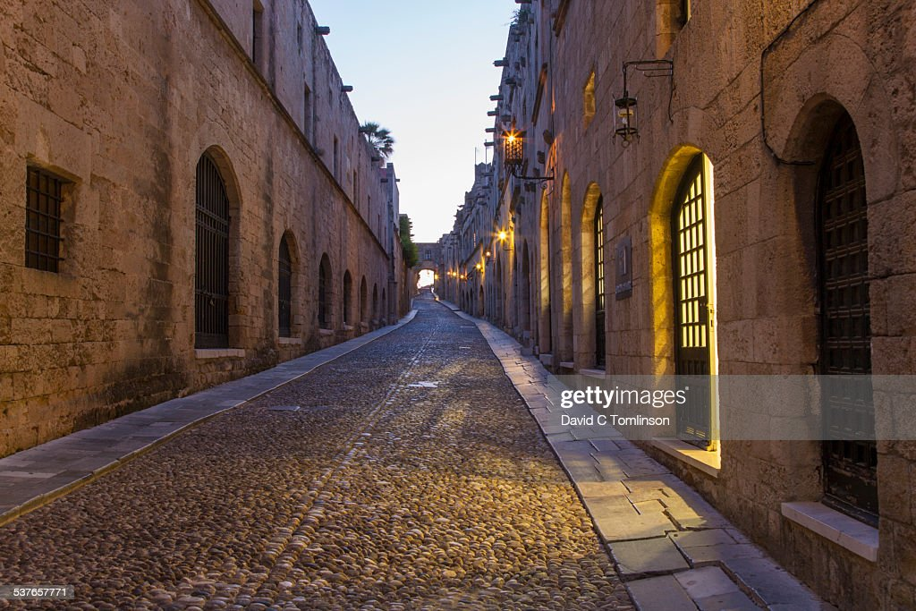 Street of the Knights, Rhodes Town, Rhodes, Greece